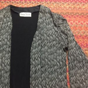 VINTAGE STRETCHY LIGHT WEIGHT CARDIGAN